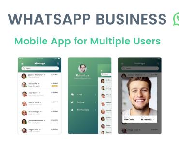 WhatsApp Business Mobile App for Multiple Users