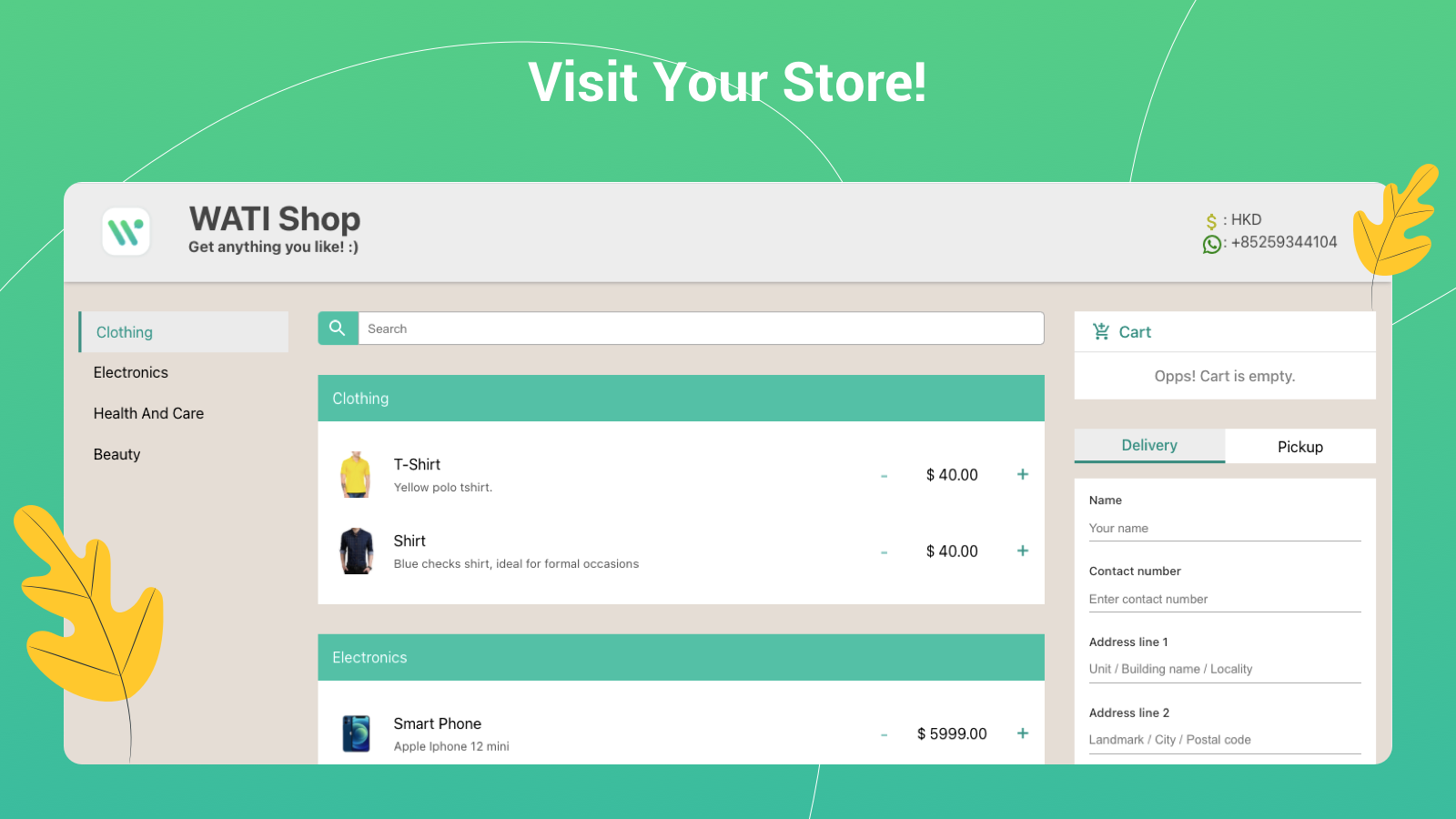 Visit Your Store