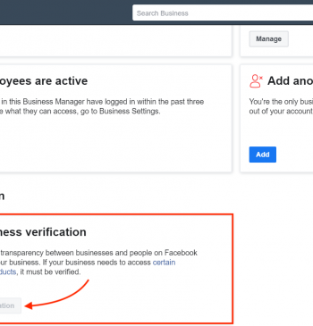 Start Verification button disabled