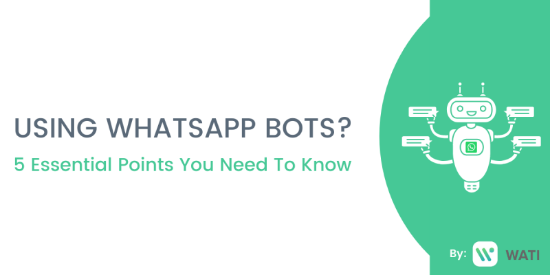All you need to know about WhatsApp bots