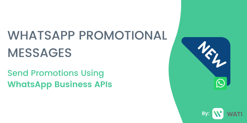 WhatsApp Promotional Messages